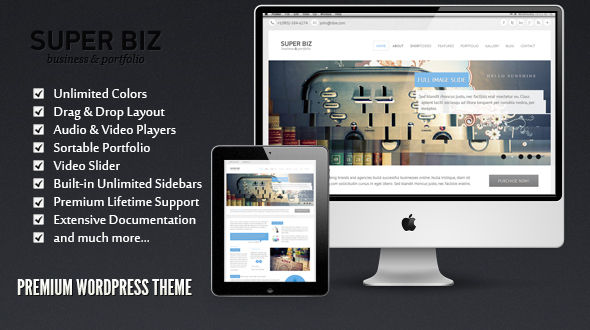 Super Biz WordPress Theme