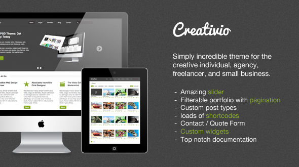 Creativio WordPress Theme
