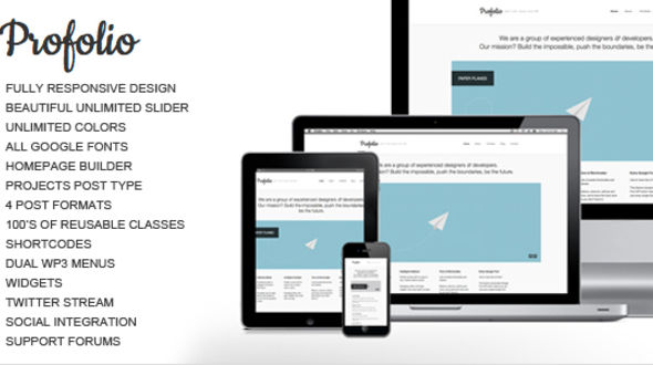 Profolio WordPress Theme