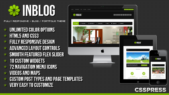 Inblog WordPress Theme
